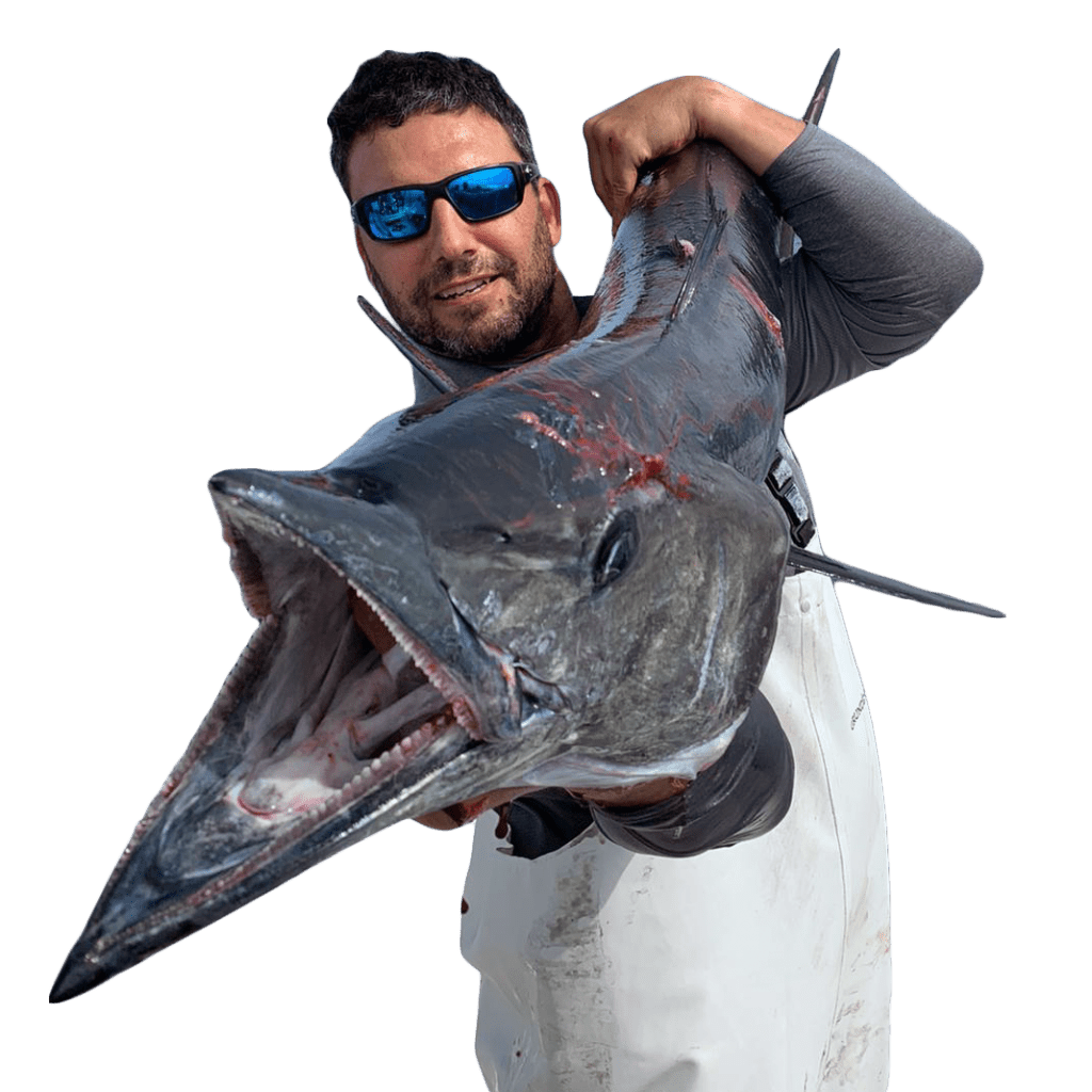 man holding a huge fish